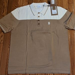 "Men's Authentic Burberry ""Brayton"" Polo Shirt"